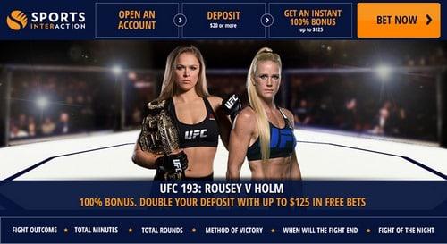 ورود به سایت شرط بندی UFC