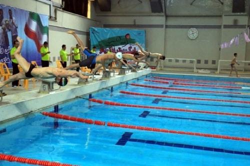 قوانین بازی شنا