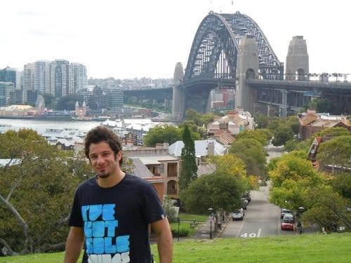 ورزشکارانی که در استرالیا زندگی می کنند